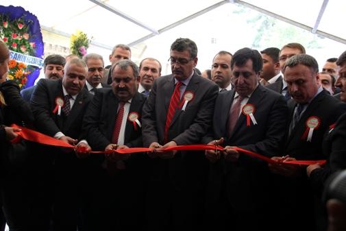 Şanlıurfa'da İnşaat fuarı açıldı