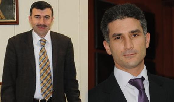 Şanlıurfa büyükşehir daire başkanlıklarına Şengöz ve Ayaz atandı