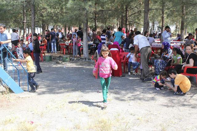 Engellilere Sulutepe'de buluştu FOTOĞRAFLI