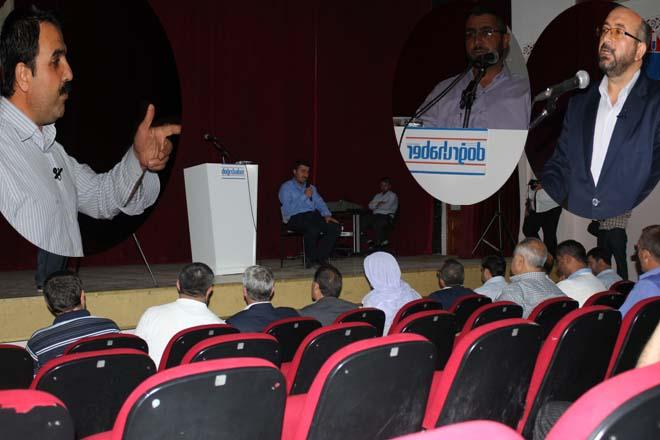 Doğruhaber Gazetesi yazarları Urfa'da okuyucularıyla buluştular