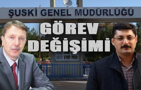 ŞUSKİ Genel Müdürü Büyükatipoğlu görevden alındı yerine Us atandı
