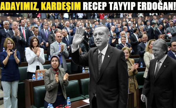 Erdoğan'ın adaylığını açıklayacak isim belli oldu