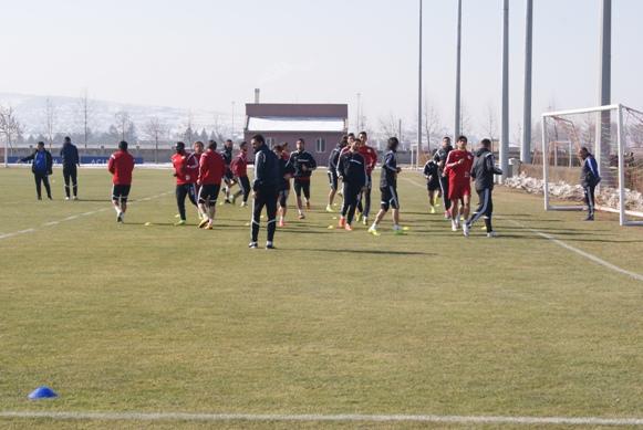 Şanlıurfaspor Kayseri maçına hazır