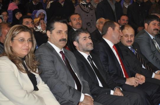 AK Parti Şanlıurfa Kadın Kolları Aysel Göncü ile devam dedi
