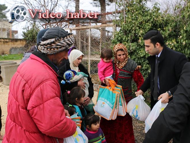 Belediyeden Telefer'den Gelen Türkmenlere Yardım