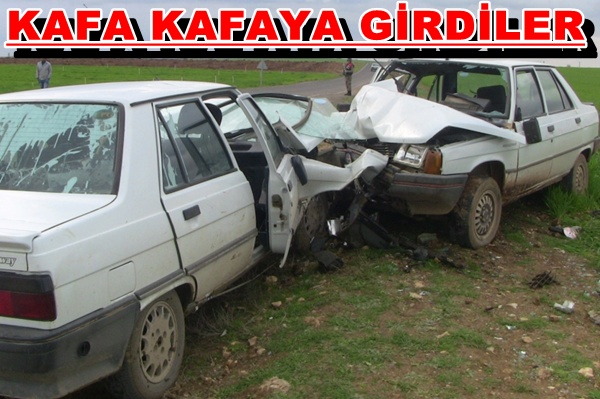 Ceylanpınar Kızıltepe Karayolunda kaza: 8 yaralı