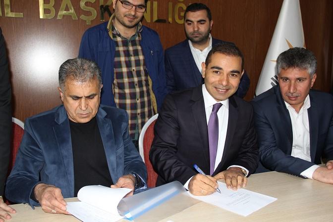 Merkez ilçe başkanlığı yapan Mustafa Zahit Vekilliğe aday VİDEO