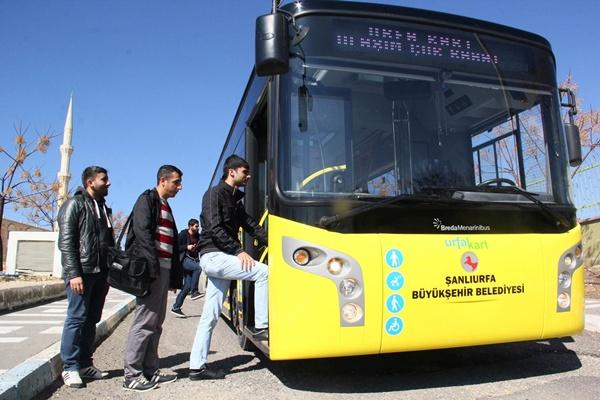 Urfa'da Körüklü Otobüs dönemi başladı