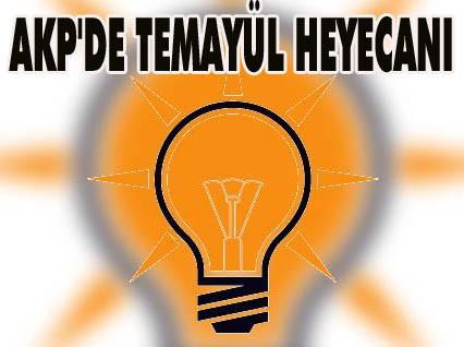 AK Parti Temayül Yoklaması Aday Adayları tercih listesi