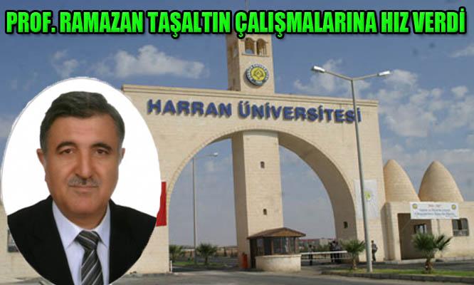 Harran Üniversitesinin Rektör Adayı Ramazan Taşaltın çalışmalarına hız verdi