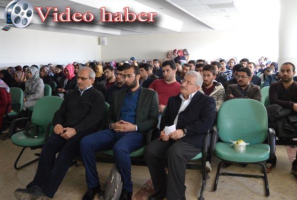 Halepçe için 3 dilde konferans