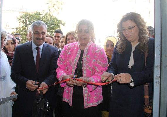 Ferahkentli kadınlar el işi hünerlerini sergiledi
