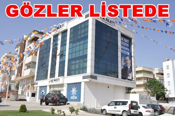AK Parti Vekil adaylarında ilk eleme oldu