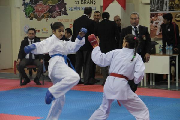 Şanlıurfa karate takımı finale kaldı