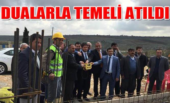 Büyükalanlı köyünde taziye evi yapılıyor