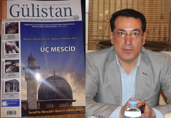 Mehmet Emin Kuş'un Yazısı 'Gülistan' Dergisinde Kapak Yazısı Oldu