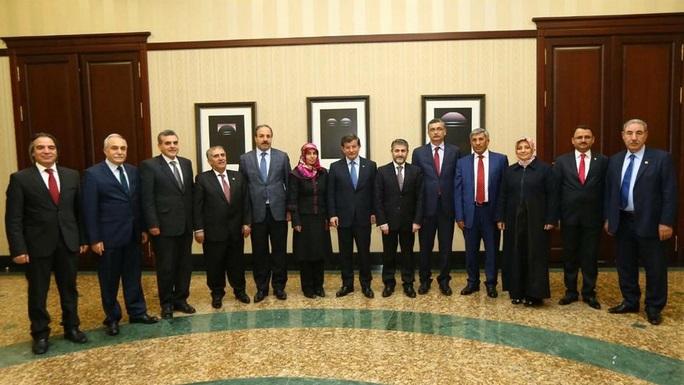Urfa adayları Başbakan'la görüştüler