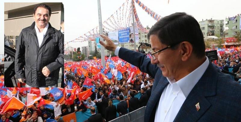 Davutoğlu, Şanlıurfa'da Tatlıses'e teşekkür etti