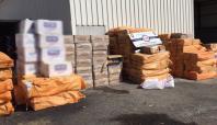 Şırnak'ta 140 bin paket sigara ele geçirildi