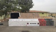 Mardin'de kaçak sigara operasyonları