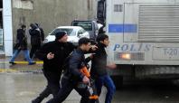 Van'da HDP yürüyüşüne polis izin vermedi: 13 gözaltı
