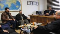 İslami STK'lardan İLKHA'ya teşekkür ziyareti