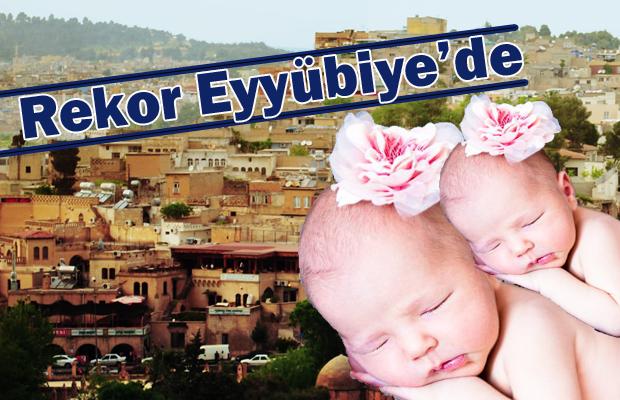 Urfa'da Doğum Rekoru Eyyübiye'de