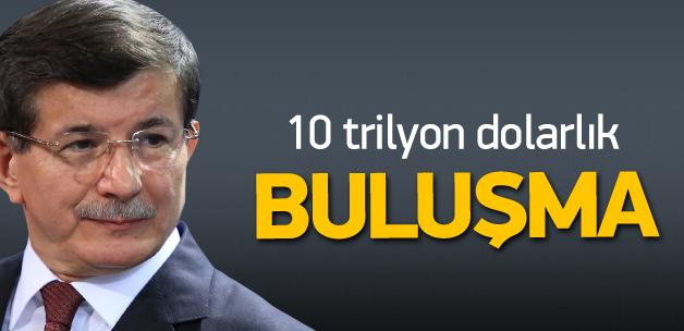 Davutoğlu'nun 10 trilyon dolarlık 'yatırım' turuna çıkıyor