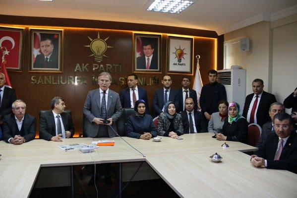 Şanlıurfa Urfa'daki Kurumları Ziyaret Ediyor