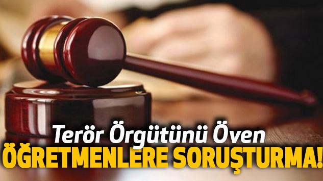 Urfa'da 7 öğretmen hakkında PKK soruşturması