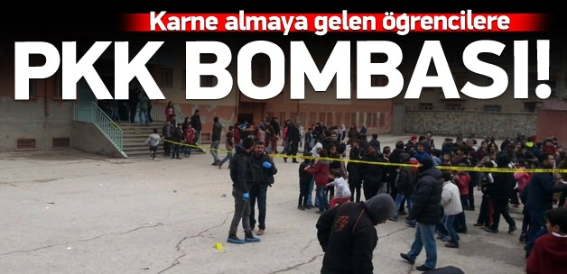 Karne günü Okula bombalı saldırı: 5 yaralı