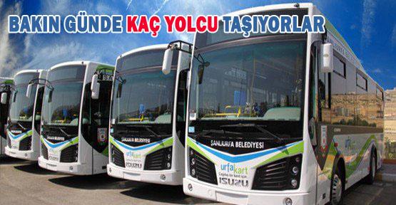 Urfa Kart günde kaç yolcu taşımaktadır?