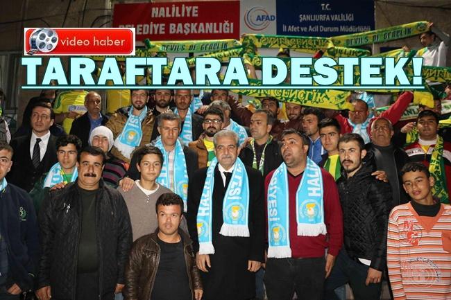 Haliliye Belediyesi Denizlispor Urfaspor Maçına taraftar gönderdi