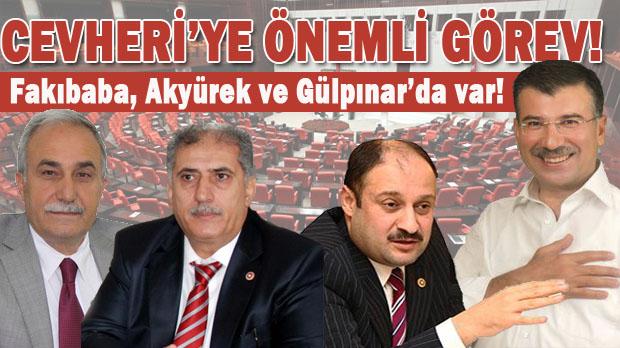 Mehmet Ali Cevher'ye TBMM'de önemli Görev