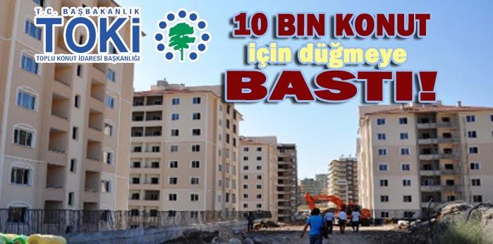 TOKİ Urfa'da Maşuk ve Akabe bölgesine konut yapacak!