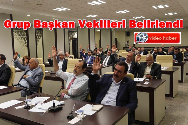 Haliliye Belediyesi Grup Başkan Vekilleri Belirlendi, Kim oldu?