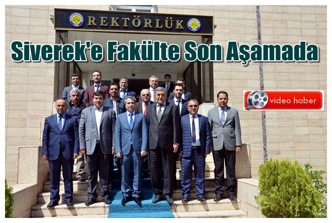 Siverek Karacadağ Üniversitesinin ilk adımı atıldı