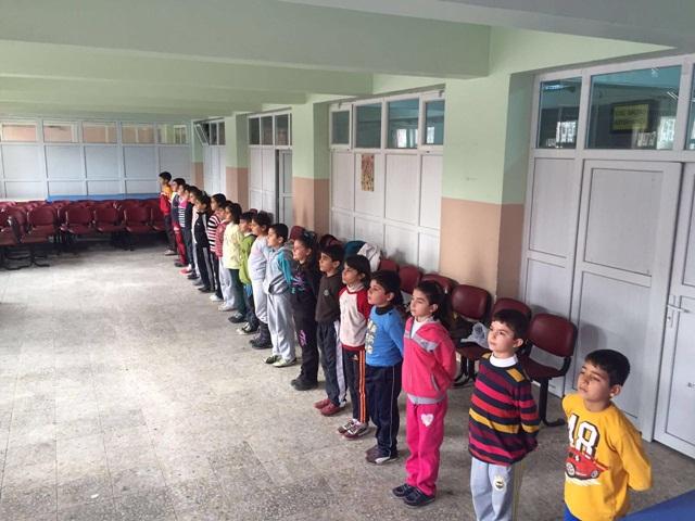 Şanlıurfa Osman Ertörer İlkokulu Öğrencilerinden Birlikte Oynayalım Projesi