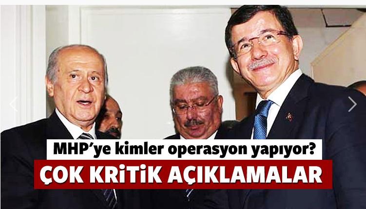 Çok kritik açıklamalar: MHP'ye kimler operasyon yapmak istiyor?