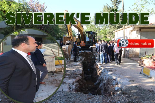 Büyükşehir'den Siverek'e müjde