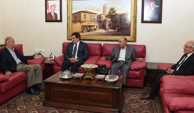 Eski valiler Karacan ve Harput Urfa'ya geldiler