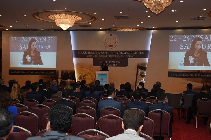 HSYK Stratejik Plan Çalıştayını Urfa'da gerçekleştirdi
