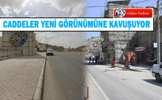 Harran Kapı ve Fuzuli Caddeleri onarıldı
