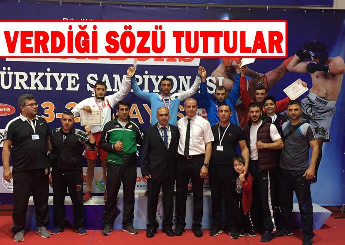 Haliliye Belediyespor Şampiyon oldu