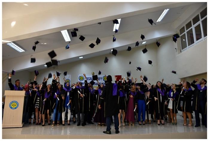 Siverek Meslek Yüksekokulu Mezuniyet Töreni yapıldı