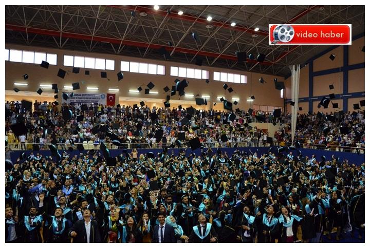 Harran Üniversitende İktisat Fakültesinde Mezuniyet Töreni