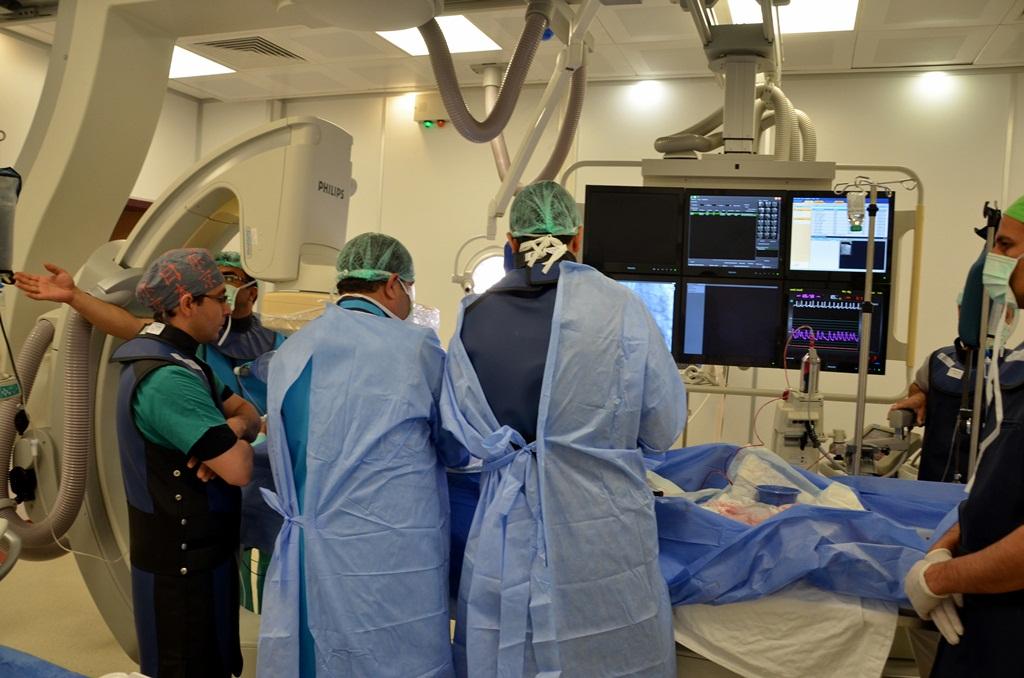 Harran Tıp'ta Ameliyatsız Kalp Kapağı Değişimi Yapıldı