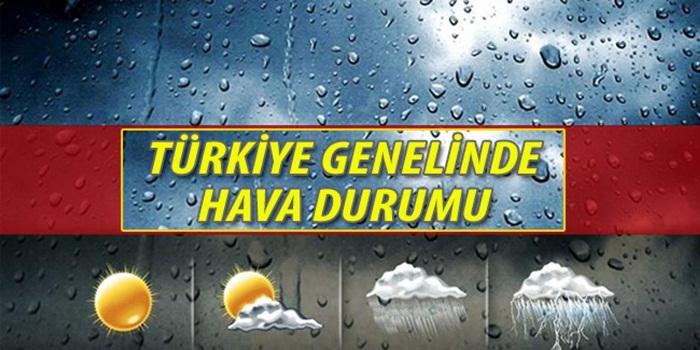 (02,06,206) Türkiye genelinde hava durumu