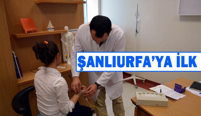 Harran Tıp'ta Akupunktur Polikiliniği Açıldı