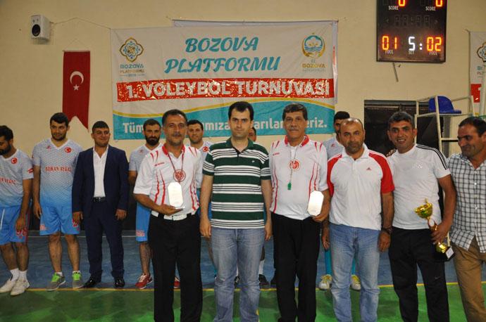 Bozova 1. Voleybol Turnuvası şampiyonu belli oldu